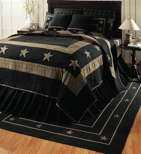 burlap comforter burlap star black by ihf home decor beddingsuperstore com