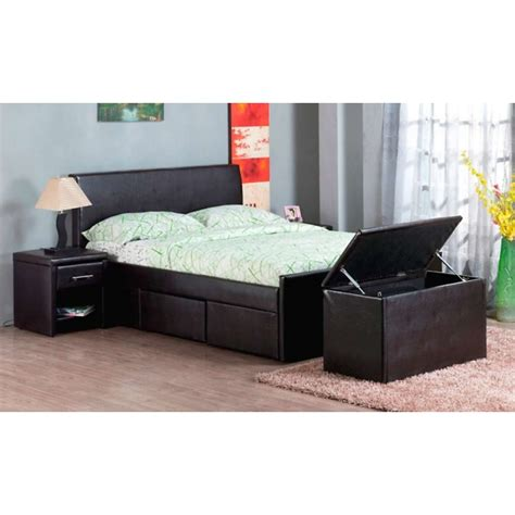 bedside storage cadaques storage bedframe ottoman chest and bedside