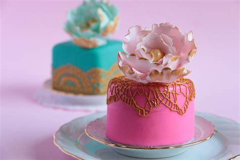 how to make mini fondant cakes rosie s dessert spot youtube