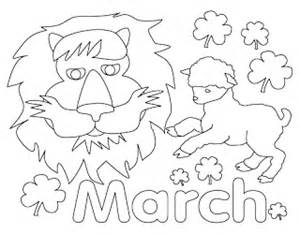 coloring pages march coloring pages