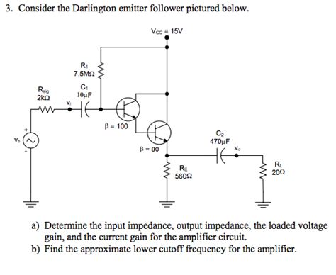 darlington transistor input impedance darlington transistor analysis 28 images lessons in electric circuits volume iii