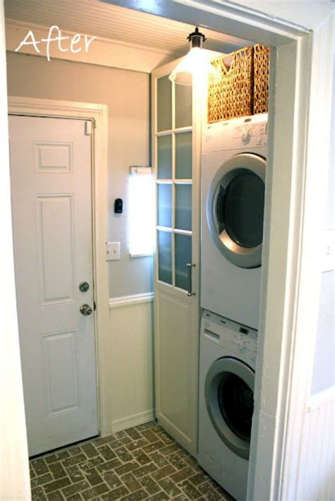 10 Space Saving Hacks For Your Small Laundry Room Hometalk Space Saving Laundry