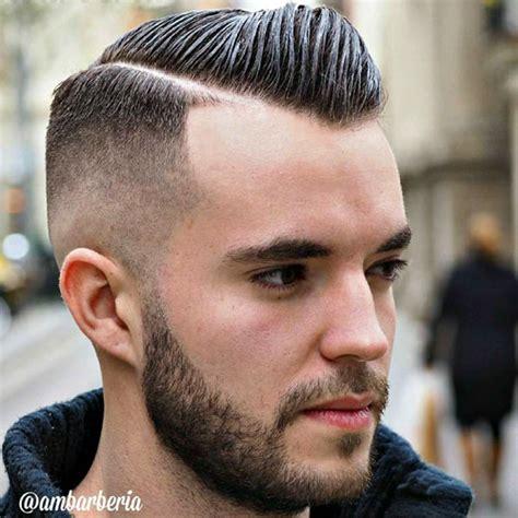 black men bald fade hard part 25 european men s hairstyles