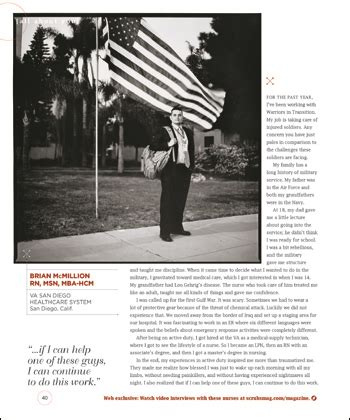 Msn Mba Salary by Nurses On Nursing Portraits Of American Nurses Page 2