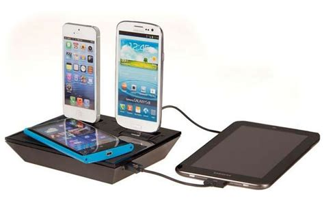 wireless charging station idapt i4w wireless charging station gadgetsin