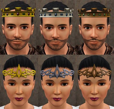 sims 2 hairstyles hair is our crown mod the sims medieval crowns circlets and hat hair