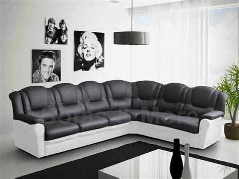 Black And White Leather Corner Sofa 20 Choices Of Black Corner Sofas Sofa Ideas