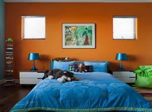 orange and blue rooms hot summer color combinations ideas trends