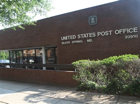 Takoma Park Post Office by Apartment Complex Replaces Second Avenue Post Office