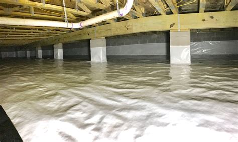 crawl space vapor another successful crawl space encapsulation installation