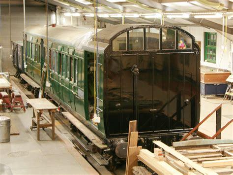 Coach 2526 Uk341125 bluebell railway c w works news 3363