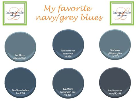 How To Wow With Shades Of Navy Grey Paint Lauren Nicole