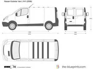 Nissan Primastar Dimensions The Blueprints Vector Drawing Nissan Primastar