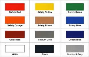 safety colors osha safety color standards pictures to pin on