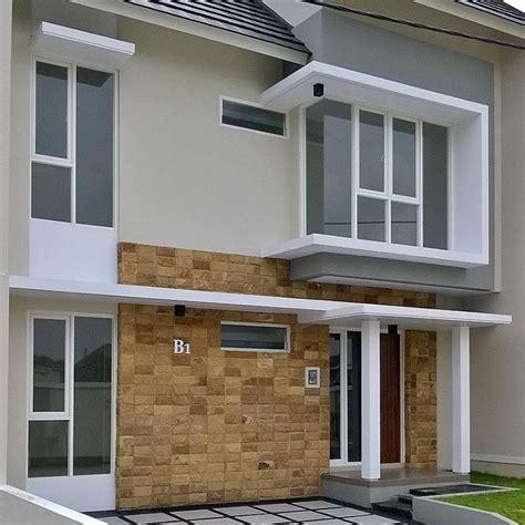 warna cat rumah minimalis  ngerend rumah minimalis