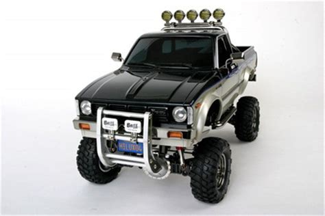 Rc Mobil Remote Tamiya 1 10 Scale Toyota Tundra Highlif Murah tamiya 58397 rc toyota hilux high lift 4x4 3spd 1 10 rc trucks ebay