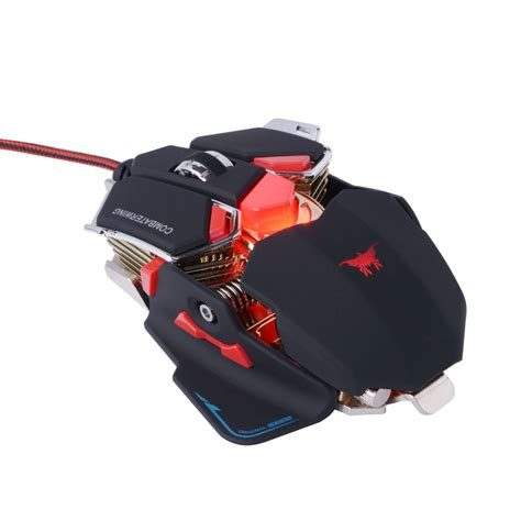 Standart Mouse Gaming buy zt v9 gaming mouse computer gamer mause 2400 dpi 6d usb optical sensor wired mice pc