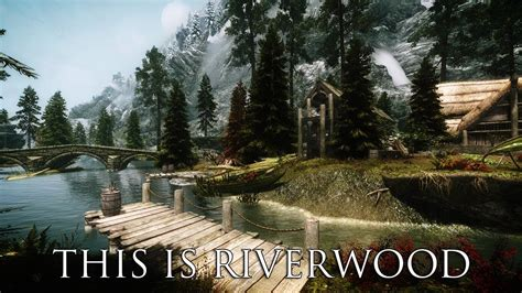 how to buy a house in riverwood tes v skyrim mods this is riverwood youtube