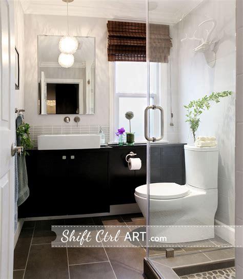 guest bathroom powder room design ideas 20 photos powder room turned full bath part iii the reveal