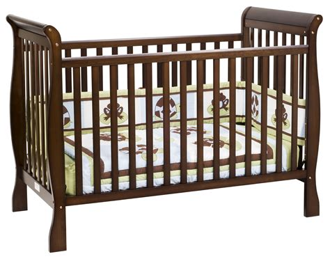 The Crib by Davinci 3 In 1 Convertible Crib In Espresso M7301q