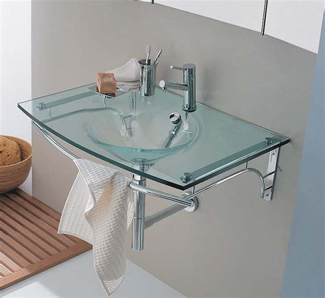 glass sinks bathroom beautiful moon glass sink home designs project