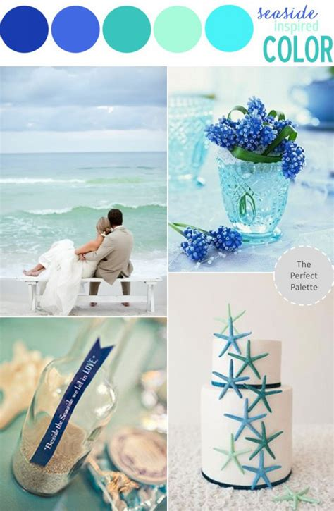 colour themes for beach wedding beach wedding color theme let the sea inspire your choice