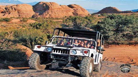 sunset hummer tours with high point hummer atv