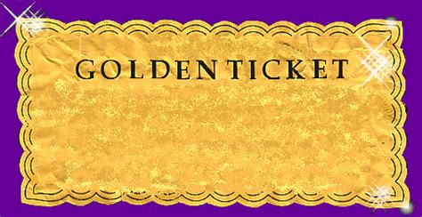 gold ticket template book my concierge llc