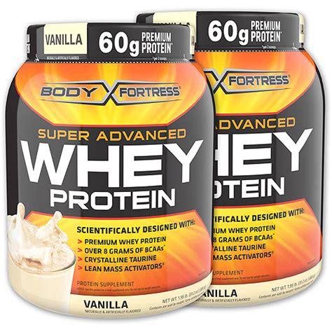 protein powder walmart fortress vanilla whey protein powder 2 pack