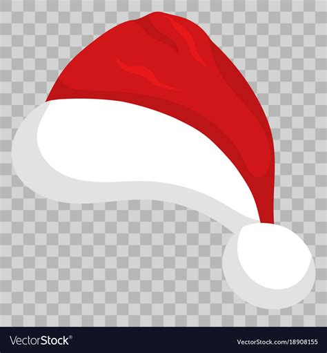 how to make background transparent in illustrator santa hat on transparent background royalty free vector