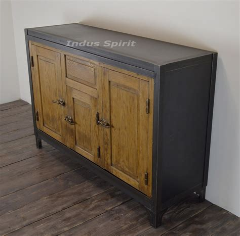 Buffet En Metal by Buffet Vintage M 233 Tal Et Bois