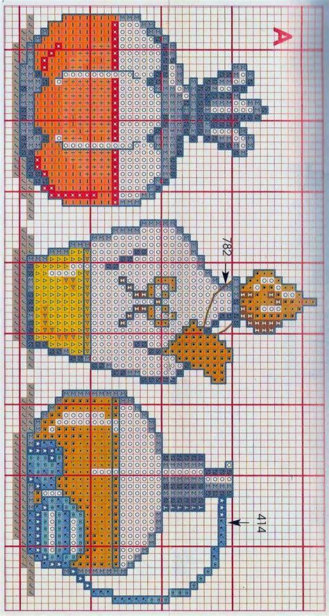 punto croce bagno hobby lavori femminili ricamo uncinetto maglia