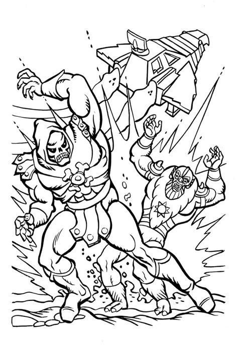coloring page of the universe 147 best coloring book pages of the motu pop universe