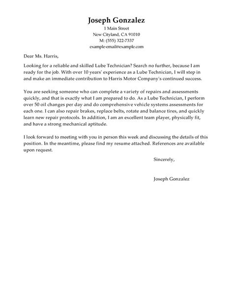 Service Technician Cover Letter by 96 Field Service Technician Cover Letter Lab Technician Cover Letter Sle Best