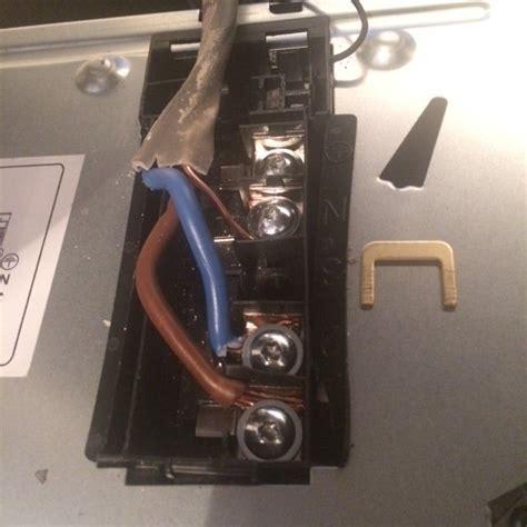 electric hob wiring diynot forums