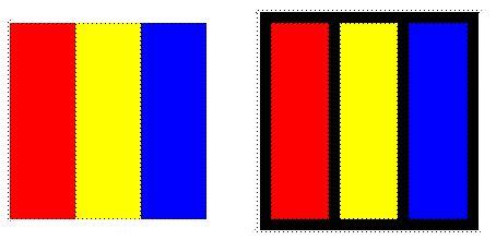 Schwarz Wei Kontrast Wirkung by Farbe An Sich Kontrast