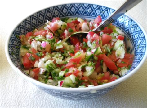vegetables used in mexican cooking mexican vegetable salsa recipe food