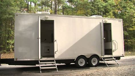 used bathroom trailer for sale portable restroom trailer portable restroom trailer for
