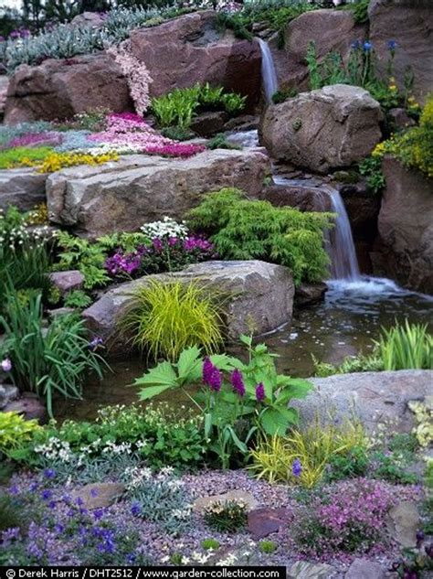 Rock Waterfalls For Gardens Water Features Rock And And Waterfalls On Pinterest