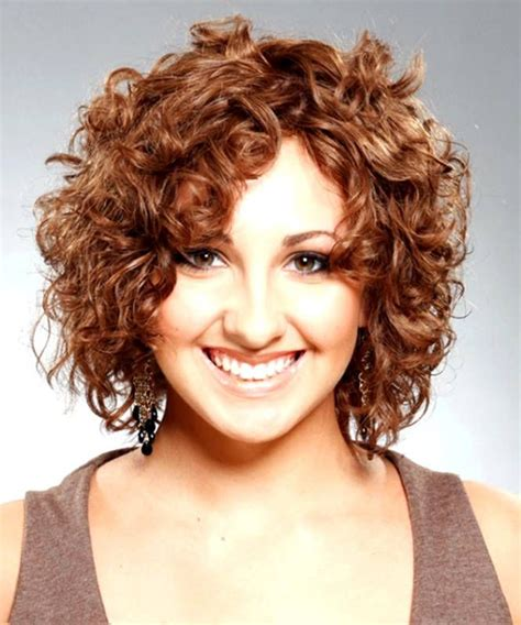 curling hair towards face short hairstyles for fat faces and curly hair best