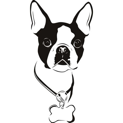 Boston Terrier Clipart boston terrier silhouette clipart free clip images