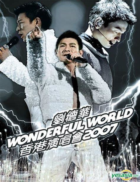 Cd Andy Lau 3 Disc Import Hk Original 1 yesasia andy lau wonderful world concert tour hong kong 2007 2cd dvd limited edition cd