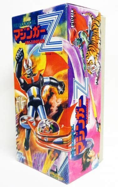 mazinger z billiken mazinger z mechanical tin billiken shokai