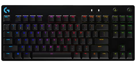 logitech  pro  mechanical gaming keyboard  swappable