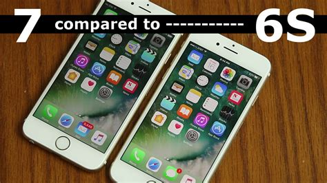 iphone 7 vs iphone 6s comparison and review