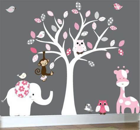 Kinderzimmer Grau Rosa Gestalten by Babyzimmer Gestalten S 252 223 E Tier Muster F 252 R Ihre Kleinen