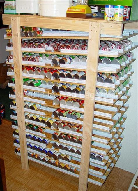 Tomato Rack System by 1000 Capacity Can Rotator Survivalist Forum