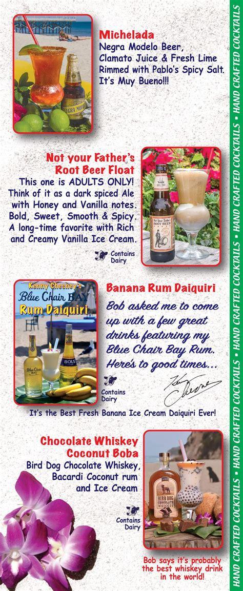 paradise cove malibu menu cocktails desserts paradise cove malibu
