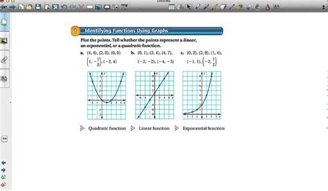 identify linear quadratic and exponential functions from tables worksheet comparing linear exponential and quadratic functions