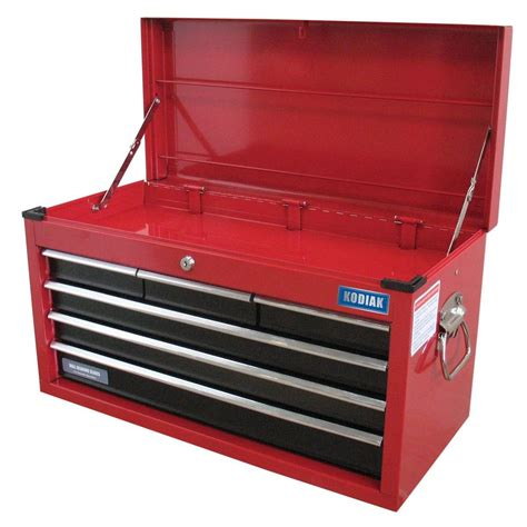 kodiak 26 in 6 drawer tool chest in shop your way